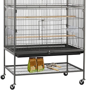 Topeakmart Wrought Iron Large Cage