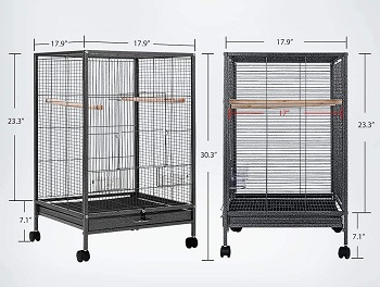 Vivohime Bird Cage Wrought Iron