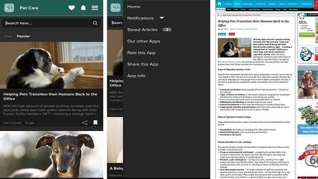 pet care news app