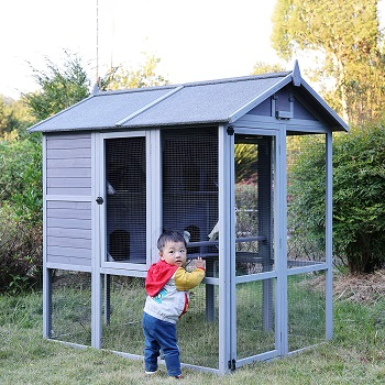 Aivituvin Large Pigeon Aviary