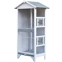 BEST CANARY LARGE WOODEN BIRD CAGE summary