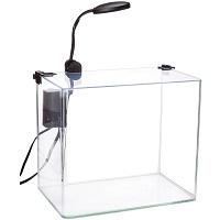 BEST CORNER 3-GALLON GLASS FISH TANK summary
