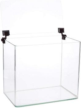BEST CORNER 3-GALLON GLASS FISH TANK