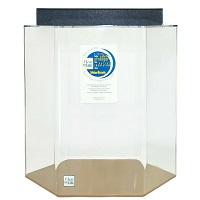 BEST CORNER 35-GALLON HEXAGON FISH TANK summary