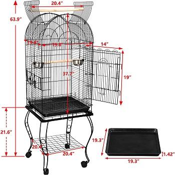 BEST INDOOR LARGE ROUND BIRD CAGE