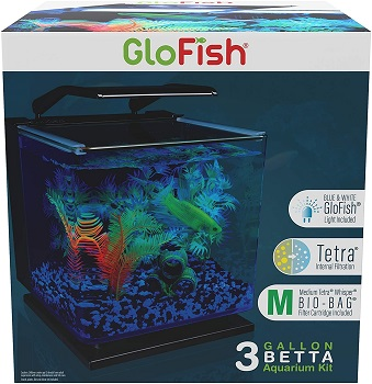 BEST OF BEST 3-GALLON GLASS FISH TANK