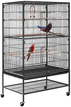 BEST ON WHEELS CHEAP PARROT CAGE