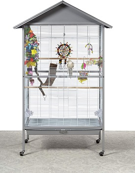 BEST ON WHEELS OUTDOOR PARROT CAGE