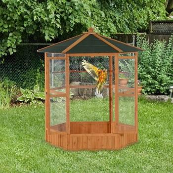 Aivituvin Wooden Bird Aviary