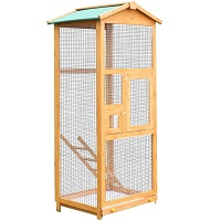BEST PARAKEET LARGE WOODEN BIRD CAGE USmmary