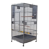 BEST PARROT AVIARY METAL BIRD CAGE WITH WHEELS summary