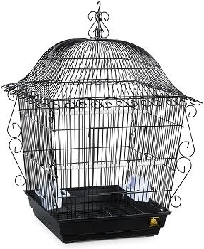 BEST SMALL VINTAGE METAL BIRD CAGE