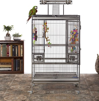 BEST STAINLESS STEEL LARGE BIRD CAGE