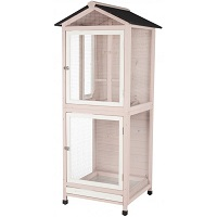 BEST WITH STAND BIG WOODEN BIRD CAGE summary