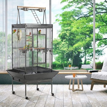 BEST WITH STAND CHEAP PARROT CAGE