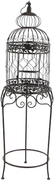 BEST WITH STAND LARGE DECORATIVE BIRD CAGE