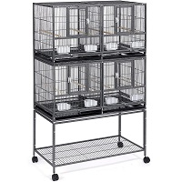BEST WITH STAND LARGE METAL BIRD CAGE Summary