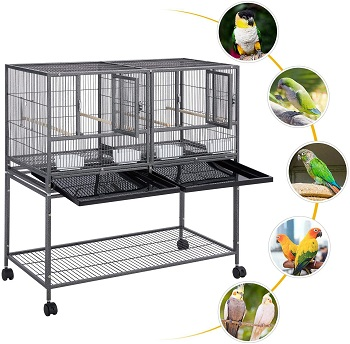 BEST WITH STAND LARGE METAL BIRD CAGE