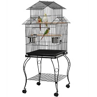 BEST WITH STAND VINTAGE METAL BIRD CAGE Summary