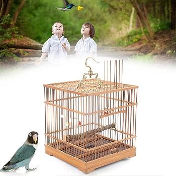 BEST WOODEN LARGE DECORATIVE BIRD CAGE