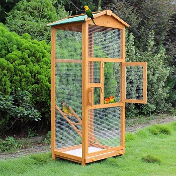 BEST WOODEN LARGE OUTDOOR AVIARY