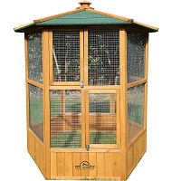 BEST WOODEN OUTSIDE PARROT AVIARY Summary