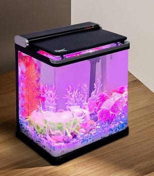 Hygger Desktop Aquarium Starter Kit