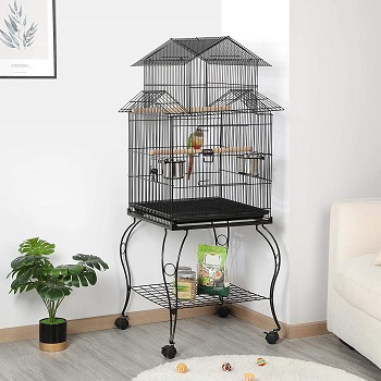 Yaheetech Rolling Bird Cage