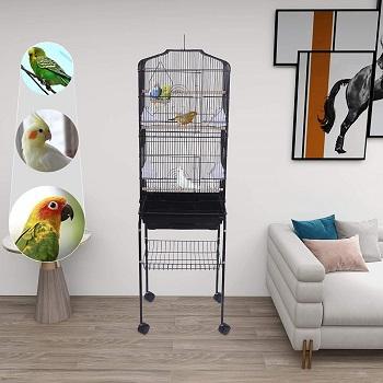 Yjjt Bird House Pole Cage