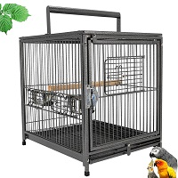 BEST AFRICAN GREY PARROT TRAVEL CAGE Summary