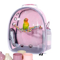BEST AIRLINE APPROVED BIRD BACKPACK WITH PERCH Summary