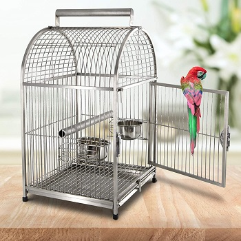 BEST BUDGIE TRAVEL CAGE