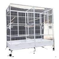 BEST CENTER DIVIDER DOUBLE MACAW CAGE Summary