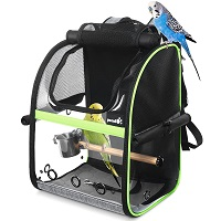 BEST OF BEST BIRD BACKPACK WITH PERCH Summary