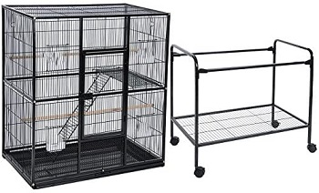 BEST OF BEST DOUBLE PARROT CAGE