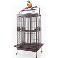 BEST ON WHEELS PARROT CAGE WITH PLAYTOP S7mmary