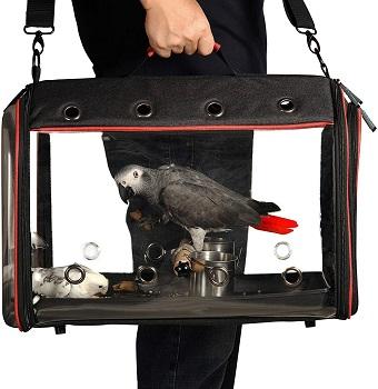 BEST PARROT SMALL BIRD CARRIER