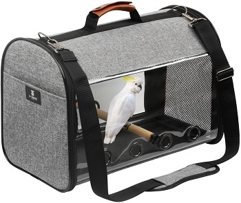BEST SMALL COCKATIEL TRAVEL CAGE