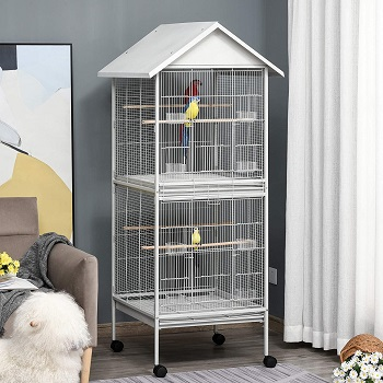 BEST SMALL DOUBLE PARROT CAGE