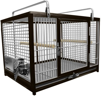 BEST TRAVEL AFRICAN GREY CAGE
