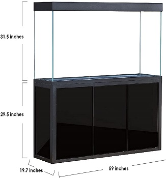 BEST WITH A STAND LARGEST HOME AQUARIUM