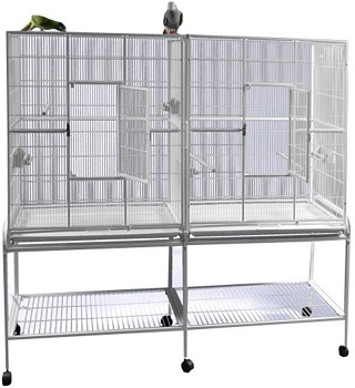 BEST WITH STAND FINCH BREEDING CAGE