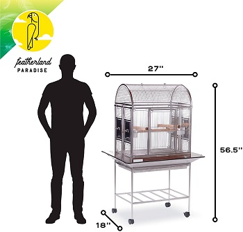 Featherland Paradise Stainless Steel Cage
