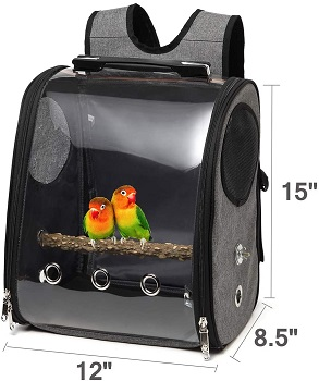 Gatycallaty Bird Parrot Backpack Carrier