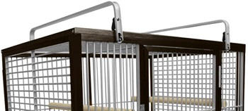 Kings Cages Large Aluminium Parrot Cage