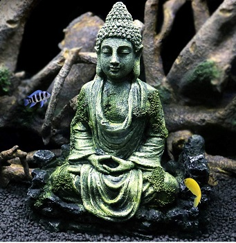 OMEM Fish Tank Buddha Statue
