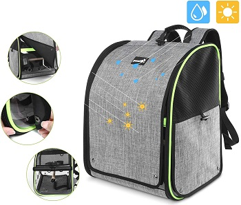 Pecute Bird Carrier Backpack