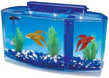 Penn Plax Deluxe Aquarium Tank
