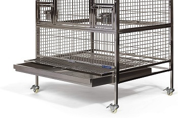 Prevue Pet Products Stainless Steel Cage