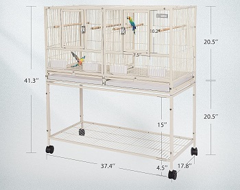 Vivohome Stackable Nesting Cage